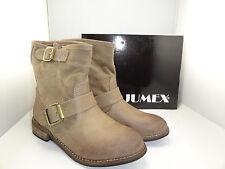 Stiefel Stiefeletten Schuhe KHAKI 39  *** JUMEX  *** 2266