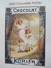 60% Off Golden Kite Counted X-stitch chart - #3543 Chocolate Kohler
