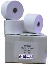 44X70 Thermal Till Rolls (20 Rolls), 44 x 70 Thermal Rolls , Cash Register Rolls
