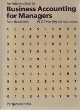 An Introduction to Business Accounting for Managers by WCF Hartley