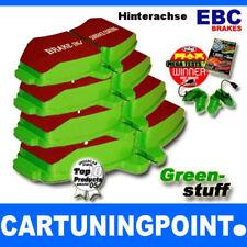 EBC Forros de freno traseros Greenstuff para RENAULT LAGUNA 2 KG0/1 DP21354