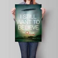 The X-Files Poster 2016 Miniseries I Still Want To Believe 16.6 x 23.4 in (A2)