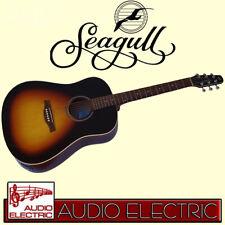 Seagull s-6 Spruce Sunburst GT a/e Western guitarra