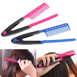 1X Straight Hair Comb Brush Tool For Dry Iron Hair Curl to Straight Hair ShaTU