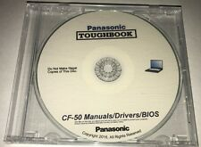Panasonic Toughbook CF-50 Manuals / Drivers / BIOS #1 RATED CD BEST!