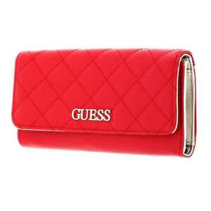 Portefeuille GUESS Illy Femme Rouge - SWVG7970650RED