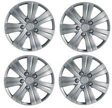 "4 x Wheel Trims Hub Caps 16"" Covers fits Vauxhall Astra H Meriva B Zafira"