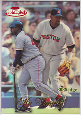 1998 TOPPS GOLD LABEL #42: MO VAUGHN #53/100 BOSTON RED SOX MVP 3 TIMES ALL-STAR