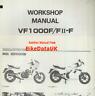 Genuine Honda VF1000F (1985>) Factory Shop Manual VF 1000 F F2 FII Bol D'or BF14