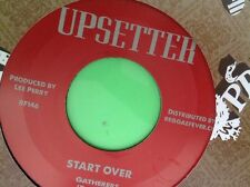 UPSETTER RECORDS START OVER GATHERS B . DALEY 45