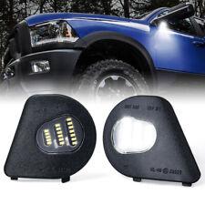 Xprite LED Side Mirror Puddle Lights For 2010-2018 Dodge Ram 1500 2500 Trucks