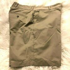 Adidas Shorts Men's Flat front 36 x 10 Tan