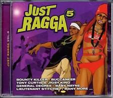 Reggae Music CD Just Ragga Vol.5 Buju Banton Bounty KillerSealed CRCD0705 (2002)