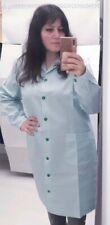 Baby mujer Colegio limpieza talla SG rayas verdes bata uniforme delantal