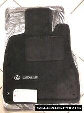 Lexus LS430 (2001-2003) 4pc OEM Genuine CARPET FLOOR MATS (Black) PT208-50010-02