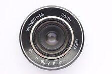 Industar-69  f/2.8  28mm m39  Russian BlackMagic Lens Chaika
