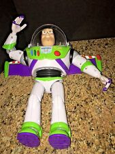 THINKWAY TOYS RARE TOY STORY BUZZ LIGHTYEAR TALKING ACTION FIGURE