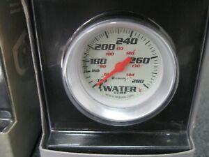 White Equus 5242 2 Mechanical Water Temperature Gauge