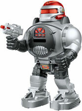 Rc Robot hablando de disparo caminar Bailando diapositiva Pet Control Remoto Juguete del Reino Unido De Regalo