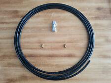 1 Meter Kunststoffrohr Ø 8mm + 1x Verbinder + 2x Hülse Polyamidrohr Polyamid LKW