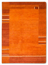 Tapis orange pour le salon de Gabbeh