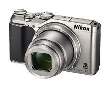 Compact Appareil Photo Nikon Coolpix a900 20.0mp appareil photo numérique-Argent démo comme neuf