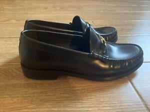 CELINE Luco Loafers In Blk Calfskin 37.5