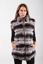 PELLICCIA REX RABBIT FUR JACKET PELZ FOURRURE JACKE ORYLAG FASHION CINCILLA'