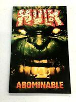 Marvel Comic TPB Graphic Novel The Incredible Hulk: Abominable TP