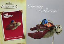 2005 Hallmark Sweeeeet Friendship Finding Nemo Disney Ornament Crush Dory Sweet