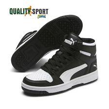 Puma Rebound Layup Nero Scarpe Shoes Ragazzo Sportive Sneakers 370486 01 2020