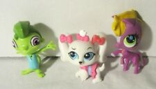 Littlest Pet Shop - Hasbro Lps - Lot of 3: Maltese #3687 Pony #3687 Lizard #3558
