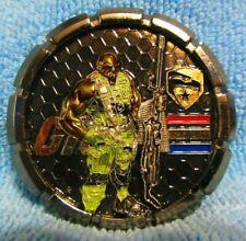 "Roadblock Challenge Coin Medallion Gi Joe Nypd New York Police 2.5"" 110 / 125"