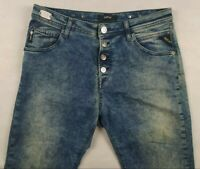 Verkauf% Herren REPLAY PILAR Slim Stretch Jeans W29 L30 Hellblau Handgemacht