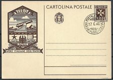 Leros covers 1946 PC not sent last day German Occupation