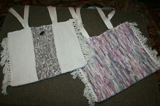 Berea College lot of 2 handwoven purses  hand crafted bags Berea Kentucky