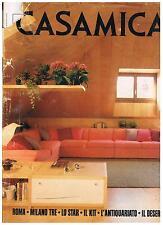 CASAMICA - 1982 - ROMA - MILANO TRE - LO STAR - IL DESERT - ANTIQUARIATO - KIT