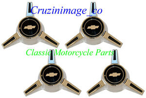 ◇65-66 Caprice Wheel Cover Spinner Assy four spinner include with Emblems TP2479