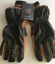 NEW Paul & Shark Jacket Guanti GLOVES Uomo Men Real Leather 9,5