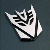 Transformers Car Sticker Decepticons 3D Chrome Emblem Logo Auto Aufkleber