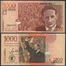COLOMBIA P450b**1000 PESOS**ND 27-09-2001 RARE DATE***UNC***SEE FULL DESCRIPTION