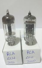 2 Early Rca 6C4 Vacuum Tubes Tested Good On Calibrated Hickok !