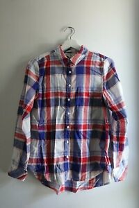 Women's H&M Cowgirl Western Plaid Shirt - Size 36 - Fitted