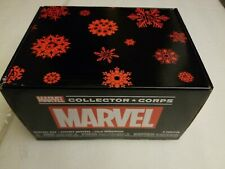 New Marvel Collector Corps Holiday Mystery Box 2019 Funko includes 2 pops size M