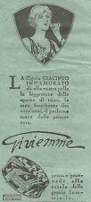 W2356 Cipria Giacinto Innamorato di Gi.vi.emme - Pubblicità del 1930 - Advert