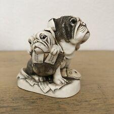 Harmony Kingdom Dead Ringer Bulldog Trinket Box
