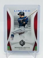 MOOKIE BETTS 2019 Panini Chronicles Baseball Limited Set Holo Silver /25 Red Sox