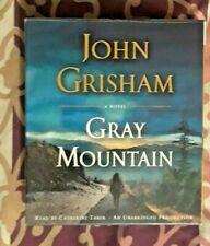 ***5 JOHN GRISHAM  Audio books on CD