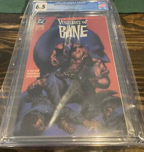 Batman: Vengeance of Bane Special #1 CGC 6.5 DC 1993 1st Bane! WP!
