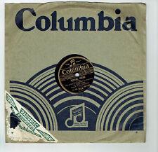 78T Tino ROSSI Vinyle Phono REVIENS CHERIE - ASSEZ DE COMEDIE - COLUMBIA DF 1826